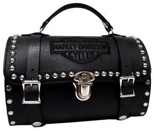 Womens Studded Barrell Bag