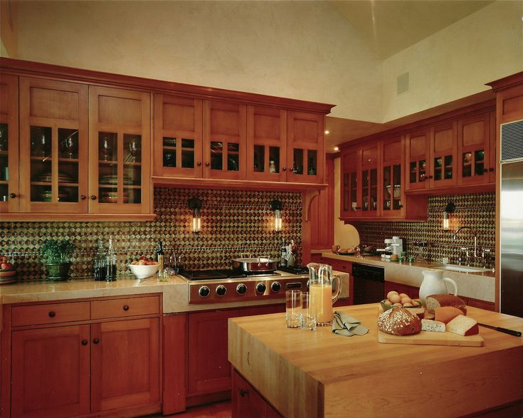 an arts and crafts kitchen kitchen dream home pinterest