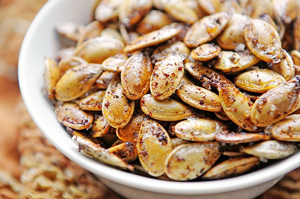 Toasted Pumpkin Seeds. Craving pumpkins this season? Save the seeds for a quick and healthy snack that doesn't sacrifice flavor! Enjoy!