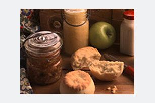 Banana nut bread butter ... so good.  Makes regular bread or crackers taste like banana nut bread.