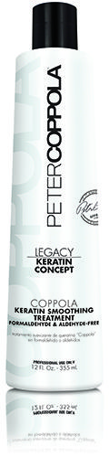 #PeterCoppola Keratin Treatment  Our Formaldehyde free & Aldehyde free versatile treatment doesn't just smooth hair; it safely provides the ultimate anti-aging boost, adds volume and restores hairs youthful look and texture for a minimum of 3 months.