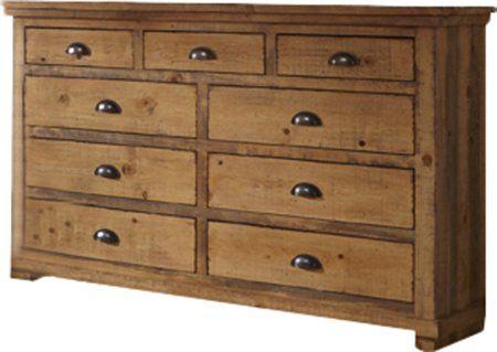 Best Castagnier 9 Drawer Double Dresser 9 Drawer Dresser 400 x 300