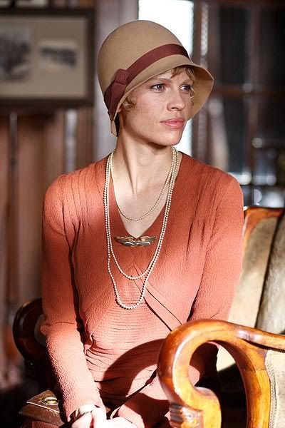 Amelia - movie about Amelia Earhart played by Hilary Swank