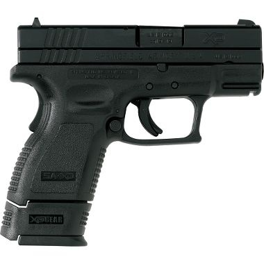 """Next on the purchase list: Springfield XD 3"""" sub-compact in 9mm. Always been more of a rifle guy, but I do enjoy shooting these Springfields..."""