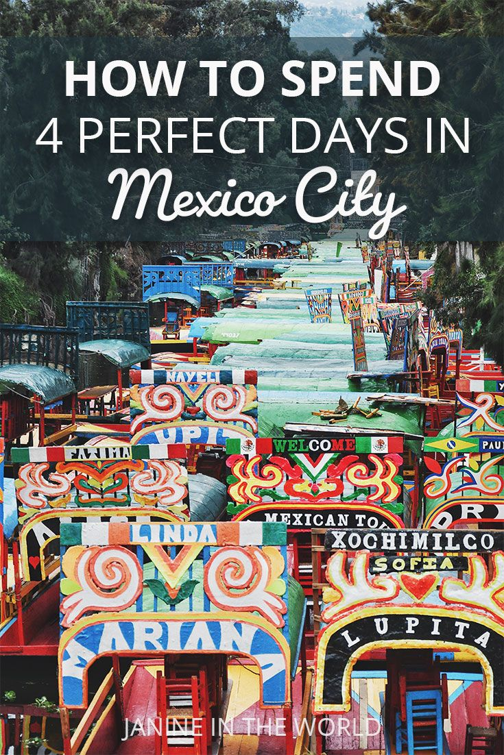 This Mexico City Itinerary Covers All The Best Things To Do On A