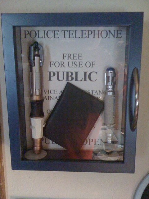 In Case Of Emergency. Sonic Screwdriver And Psychic Paper · Doctor Who  DecorDoctor Who RoomEmergency ... Part 74