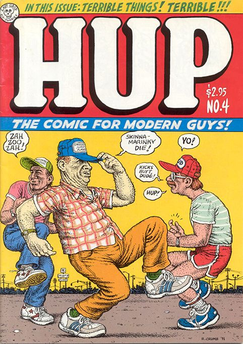 Hup 4 by #Robert_Crumb #underground_comics