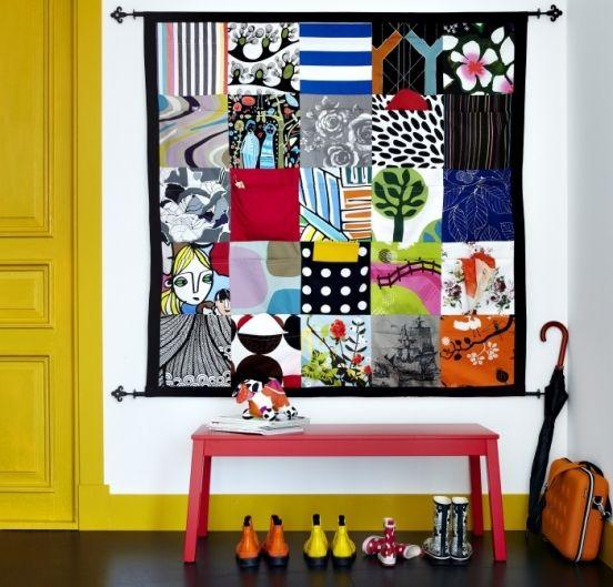 Zakkenvullers op groot doek - IKEA FAMILY
