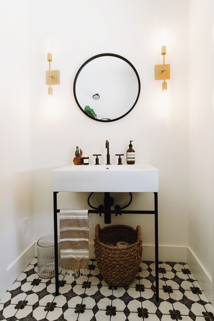 Powder Room Before + After