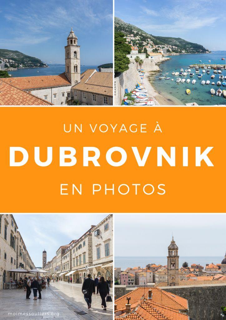 Voyage à Dubrovnik en photos - Moi, mes souliers