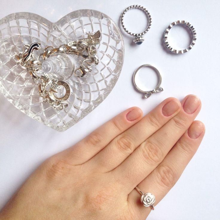 I love Pandora Jewellery especially this new enamel rose ring