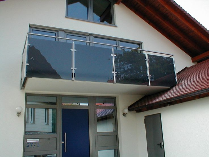 glass railing for balcony Outdoor Patio Decoration in