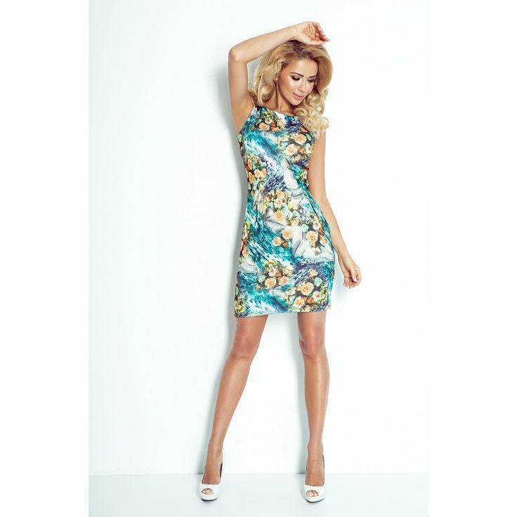 Rochie cu imprimeu floral Numoco #rochiidevara #rochiicasual