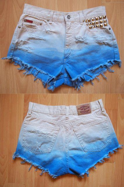 diy shorts...definitely gonna use longer shorts though