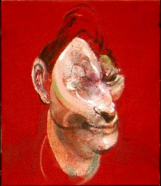 Lucien Freud by Francis Bacon.