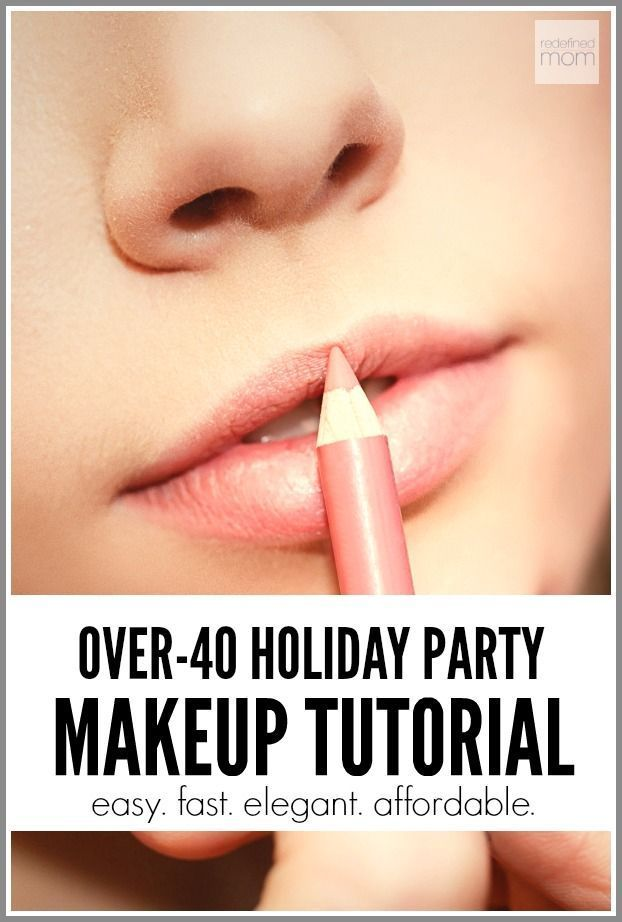 Over 40? Need to go to a holiday party? Wondering how to do your makeup? End the frustration - watch this over 40 holiday party makeup tutorial. Easy. Fast. Elegant. Affordable