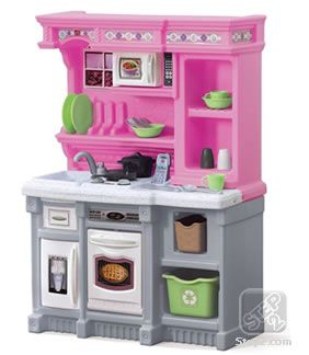 LifeStyle Welcome Home Kitchen™ - Pink | Play Kitchens | Step2