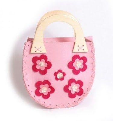 Filcowa torebka dla dziewczynki - Trafiony prezent