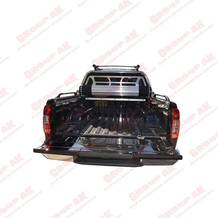 Roll-X + side rails Nissan Navara D40 Full access to the bed