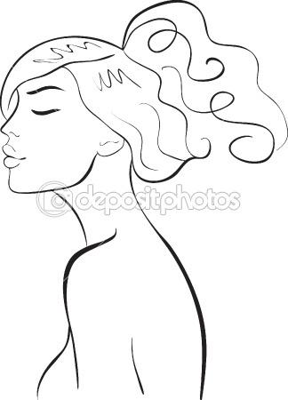 Face girl — Stock Vector #2881012