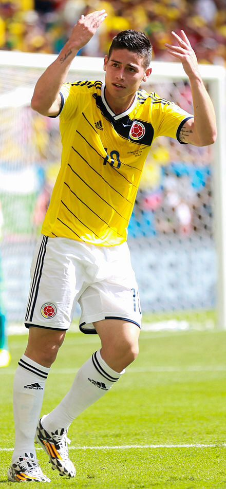 James Rodriguez: Colombia national team  AS Monaco