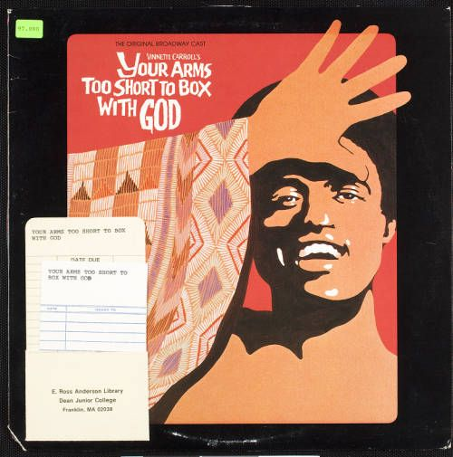 Your arms too short to box with God, 1977, [album cover, front] :: Your arms too short to box with God, 1977 :: Gospel Music History Archive. http://digitallibrary.usc.edu/cdm/ref/collection/p15799coll9/id/745