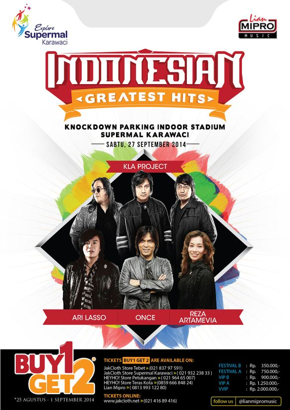 Konser Musik Indonesian Greatest Hits