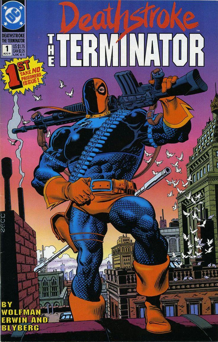 Deathstroke The Terminator 1 DC Comics in 2020