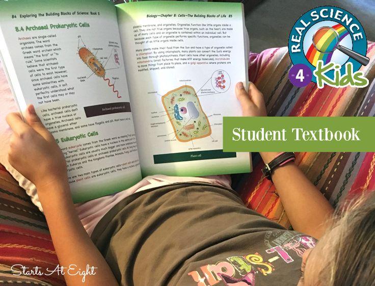 Elementary Homeschool Science Curriculum - Real Science-4-Kids  (textbook)