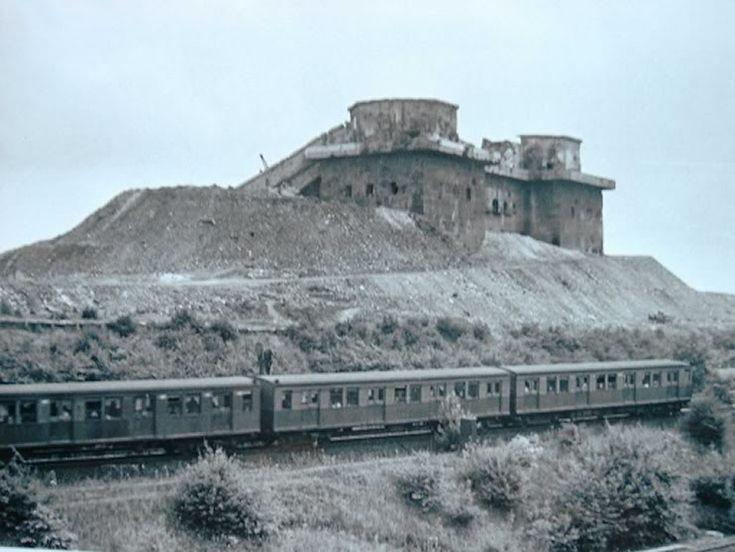 ca 1948 Flakturm Humboldthain