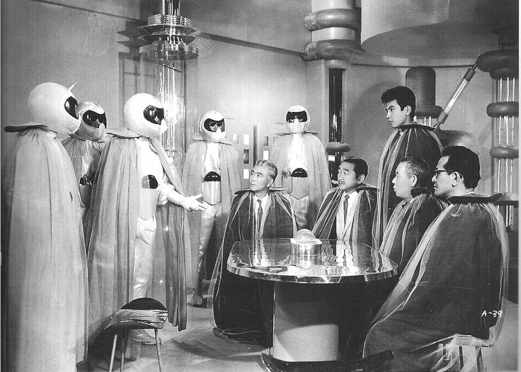 'Mysterians'  Japanese sci-fi decent special effects for its day (1957)