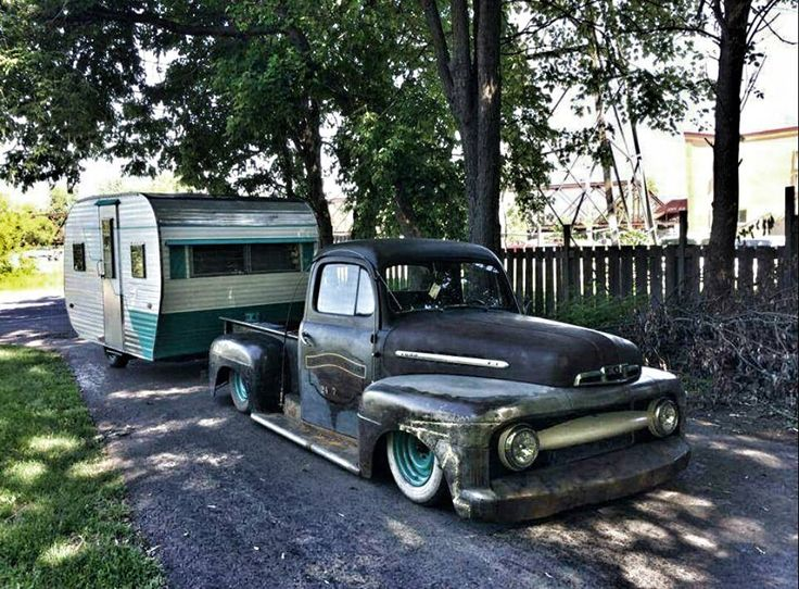 Ford F1 F 1 Pickup Truck Slammed Dropped Laid Out With