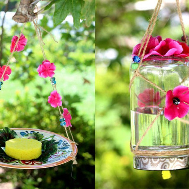 How to make butterfly feeders