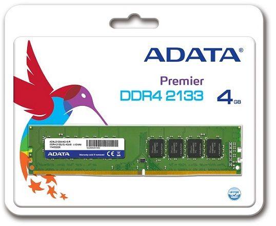 ADATA a lansat prima memorie DDR4 la 2133 MHz | EPA Systems