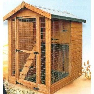 Gallinero prefabricado de madera milan jardin for Gallinero jardin
