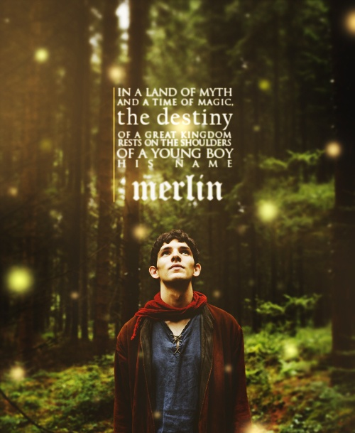 Merlin, along with Supernatural, a series I really must watch!