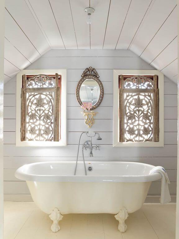 Dunmore Town Beach House Tour Beach Bathroom Decor Bathroom