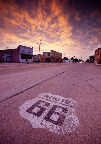 Take a Route 66 road trip - from Chicago to Santa Monica.