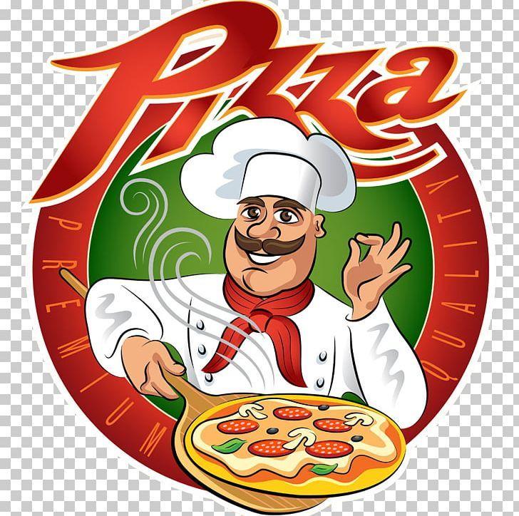 Pizza Chef Italian Cuisine Cooking Png Cartoon Cartoon Pizza Christmas Clip Art Cook Pizza Vector Pizza Chef Pizza Logo