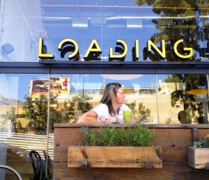 Loading Bay Coffee Shop in De Waterkant Cape Town