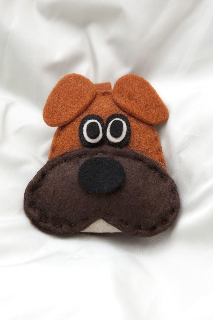 """""""Dog Boxer"""" Portachiavi  *Le Chips di Feltro* -  Felt Pets Keychain"""