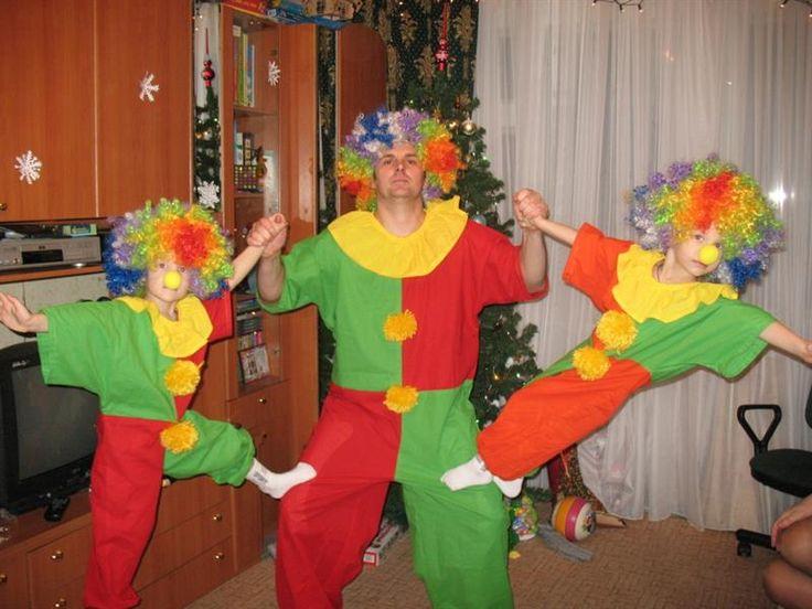 Костюм клоуна на новый год для детей 10 лет