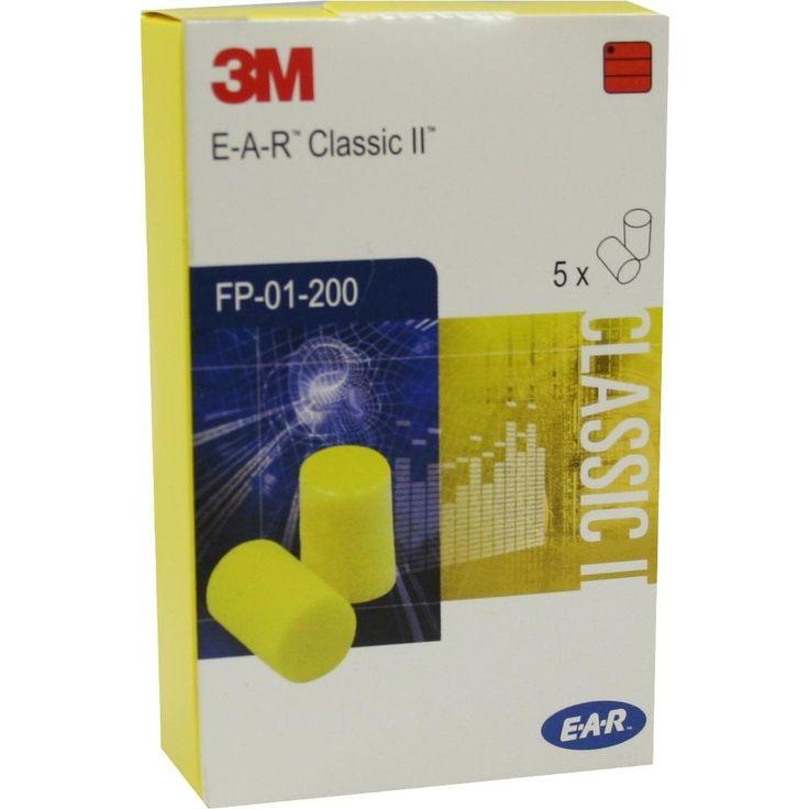 EAR Classic II Gehörschutzstöpsel:   Packungsinhalt: 10 St PZN: 04012566 Hersteller: Axisis GmbH Preis: 1,22 EUR inkl. 19 % MwSt. zzgl.…