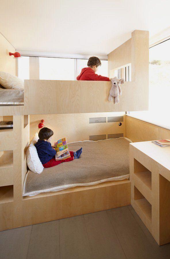 デザインを工夫すれば一人部屋のようなパーソナルスペースを作ってあげることも可能。