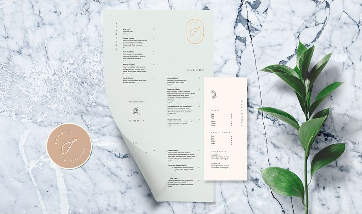Floret | DEI Creative | Seattle Graphic, Branding, Web