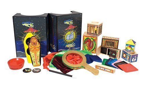 Melissa & Doug Deluxe Solid-Wood Magic Set With 10 Classic Tricks - Toys 4 My Kids