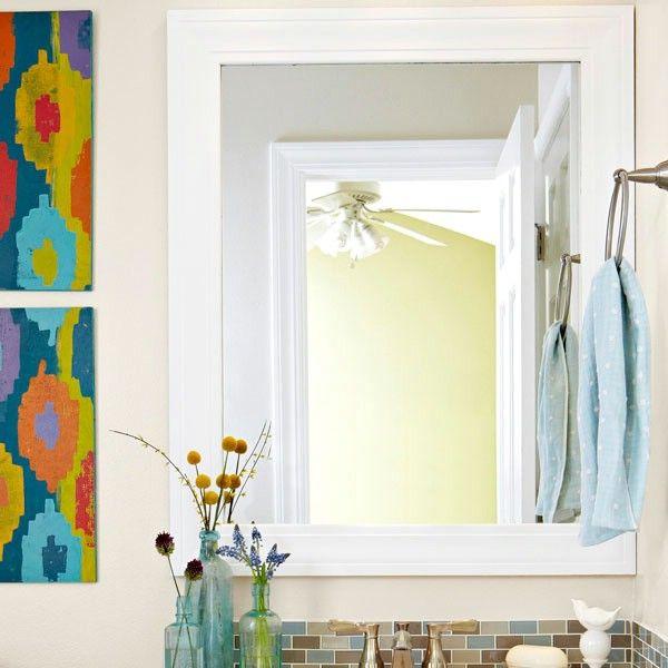 Quick Diy Dollar Tree Bathroom Decor 2 For 5 Youtube: Best 25+ Diy Floral Mirror Ideas On Pinterest
