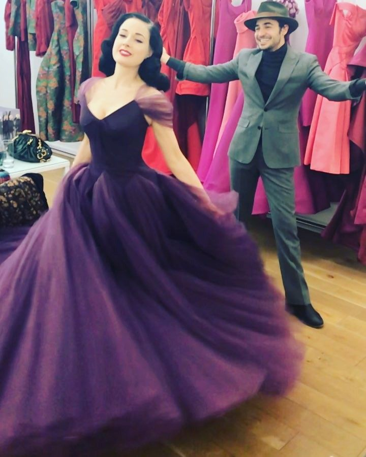 100 5k Likes 3 114 Comments Zac Posen Zacposen On Instagram Always Great For Ditavonteese To Inaugurate The New Fashion Gorgeous Dresses Fancy Dresses