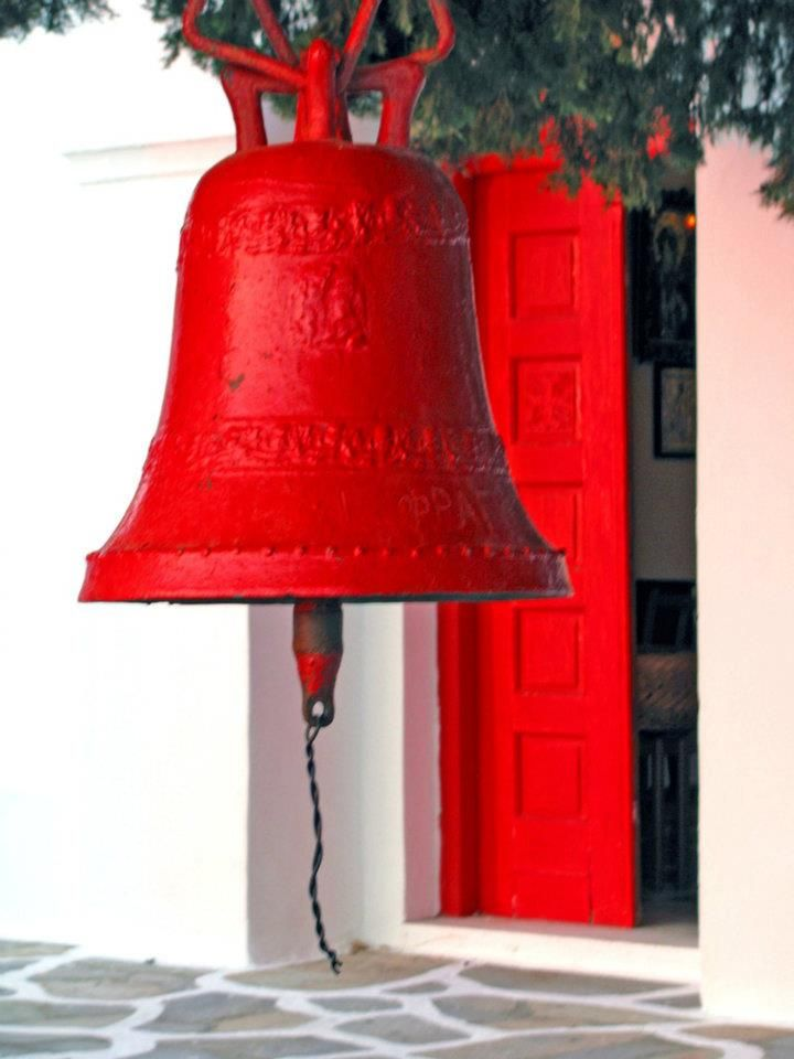 Red Bell  at Kythnos island