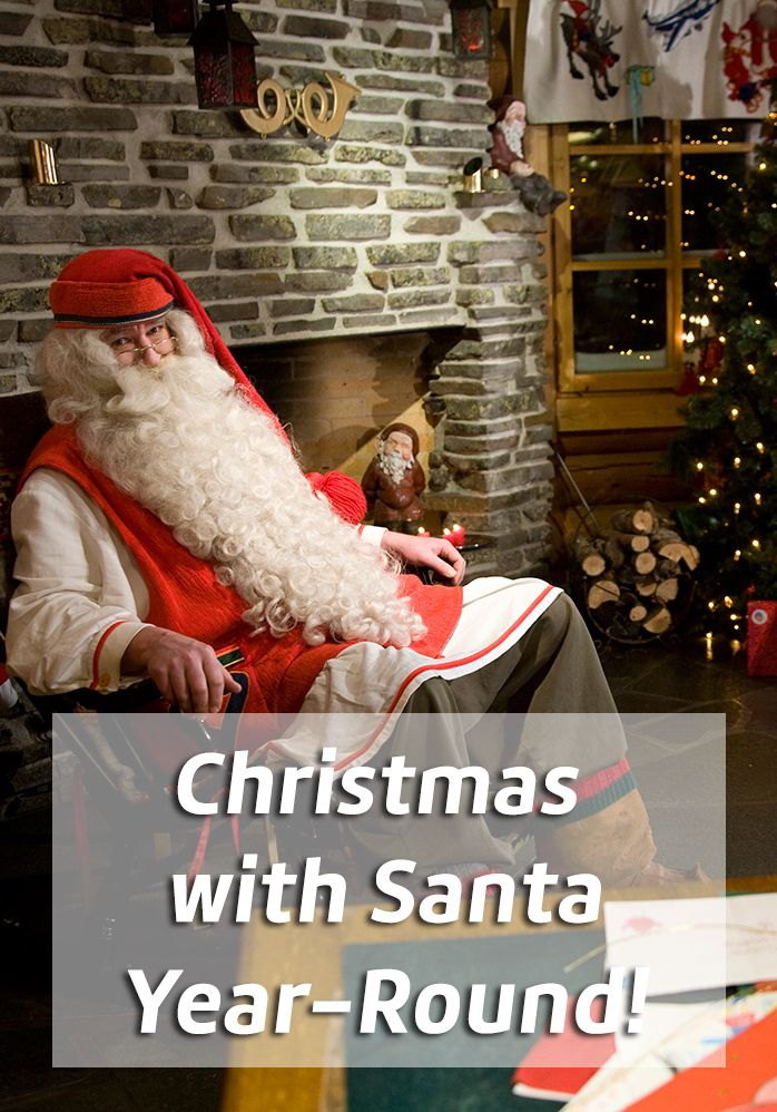 Did you know you can have Christmas any time of year? Santa Claus is present in his office in Rovaniemi every day! Read about what a visit to the snowy city in the Finnish Lapland is like.